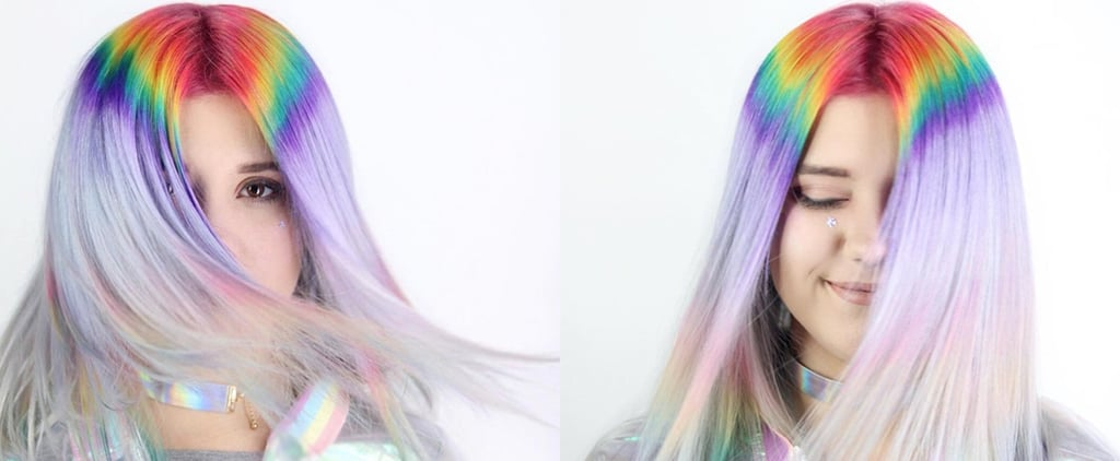 Prism Root Hair Colour Trend
