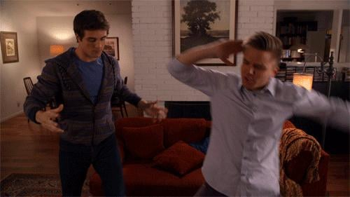 When Matty and Jake Dance Like This . . .