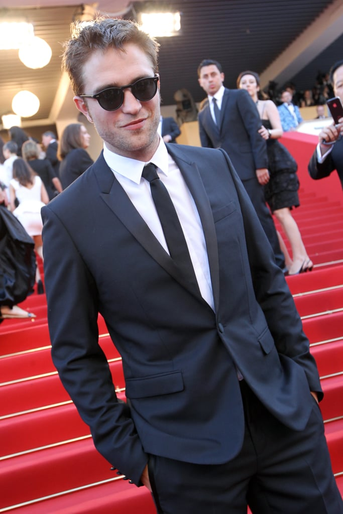 Robert Pattinson took to the satirs at the On the Road premiere at the Cannes Film Festival.