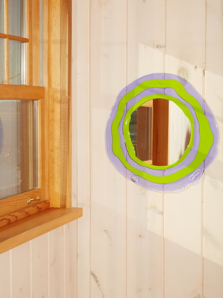 For Your Entryway: Round Mirror