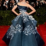 Karolina Kurkova at the 2014 Met Gala