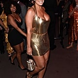 Ashley Graham at the Met Gala Afterparty