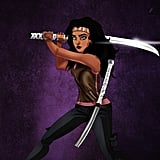 Esmeralda as Walking Dead's Michonne