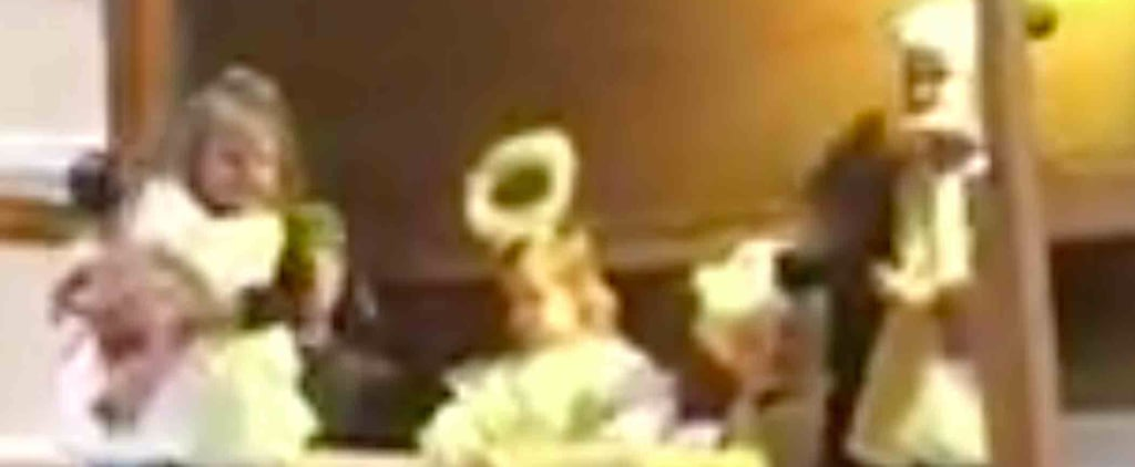 Girl Steals Baby Jesus in Nativity Play