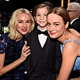 Pictured: Naomi Watts, Brie Larson, and Jacob Tremblay