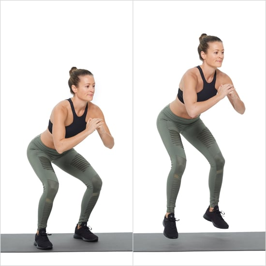 How to Do Squat Hop and Hold