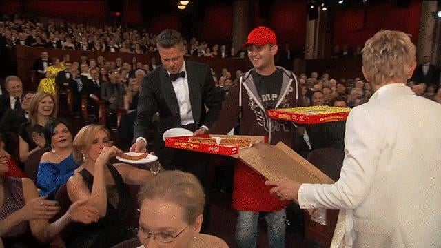 Best Plate-Passing in a Supporting Role: Brad Pitt