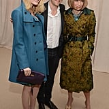 Emma Stone, Anna Wintour and Christopher Bailey attended the CFDA/Vogue Fashion Fund Awards in NYC.