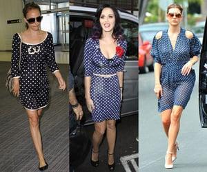 Katy Perry, Kate Walsh, and Natalie Portman Wearing Polka Dots