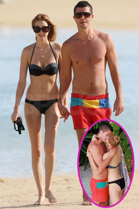 Pictures of Whitney Port In A Bikini With Shirtless Ben Nemtin Indulging In A Beach PDA