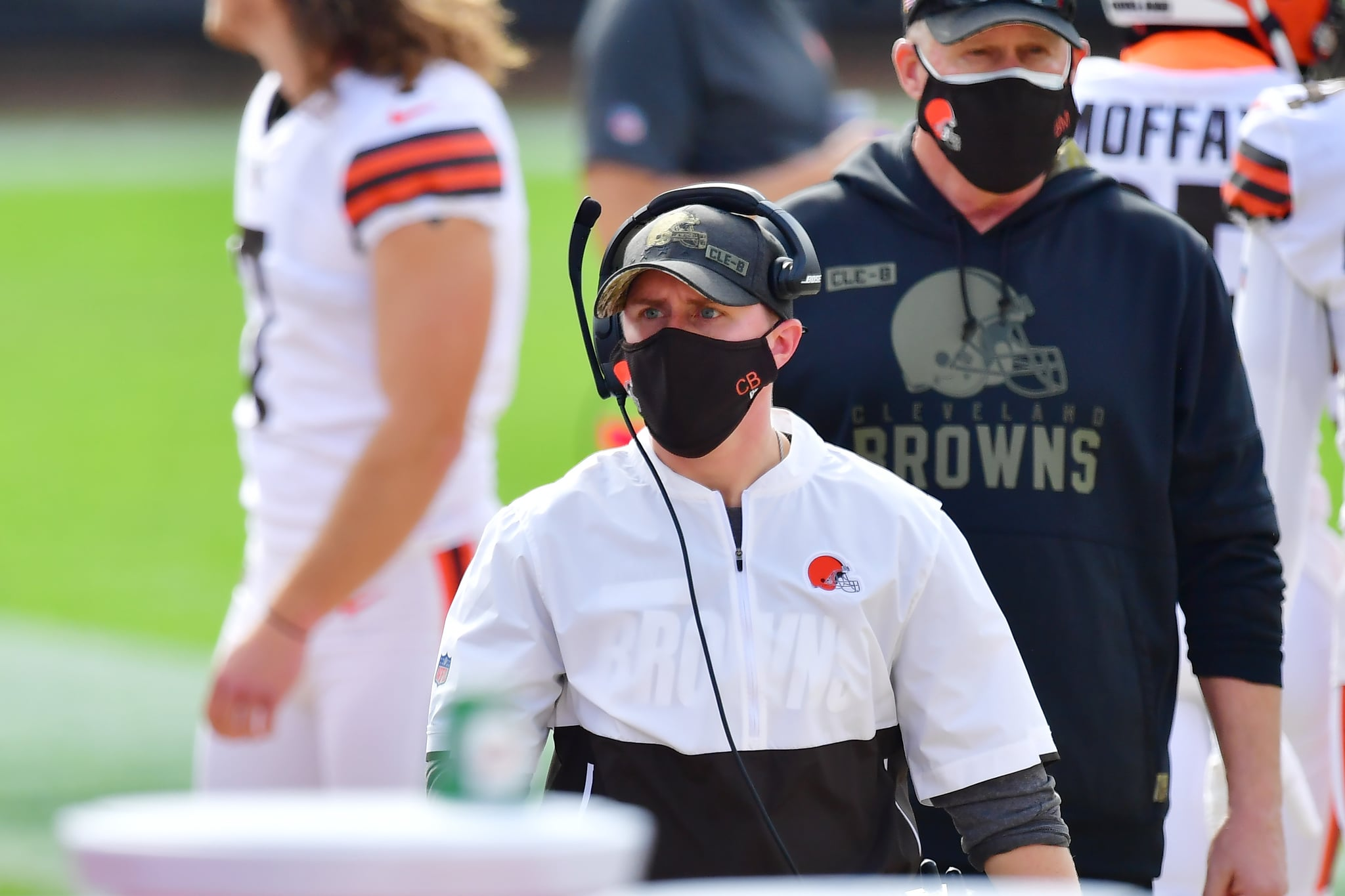 NFL History: Callie Brownson, Browns Interim Tight End Coach 2