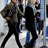 Kate Moss and Jamie Hince went out in London.