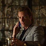 Guy Pearce as Aldrich Killian Robert Downey Jr. is the suave Tony Stark in Iron Man 3, but Guy Pearce offers some pretty stiff competition in the hot guy department. As a brilliant villain, he starts off nerdy but eventually morphs into the slick businessman you see at left.