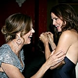 Jennifer Garner and Rita Wilson at the BAFTA Brits to Watch event in LA.