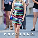 AnnaSophia Robb spent Tuesday filming more scenes for the upcoming season of The Carrie Diaries in NYC.