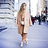 With a Neutral Top and Neutral Heels