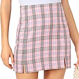 WDIRARA Plaid Skirt