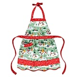 Santa Mickey Mouse and Friends Happy Holidays Apron ($27)