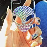 Holographic Alien 90's Rad Ying Yang Trendy iPhone Case ($8)