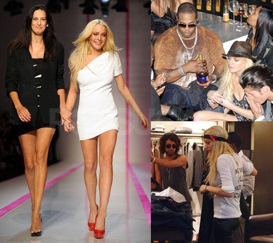 Photos of Lindsay Lohan in Paris
