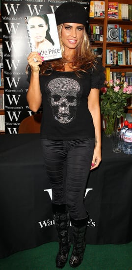 Pictures of Katie Price at Autobiography Book Signings You Only Live Once in Boston and Kettering