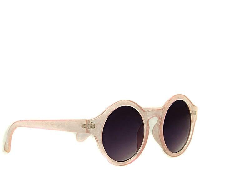Missguided Kezia Circle Sunglasses in Nude ($16)