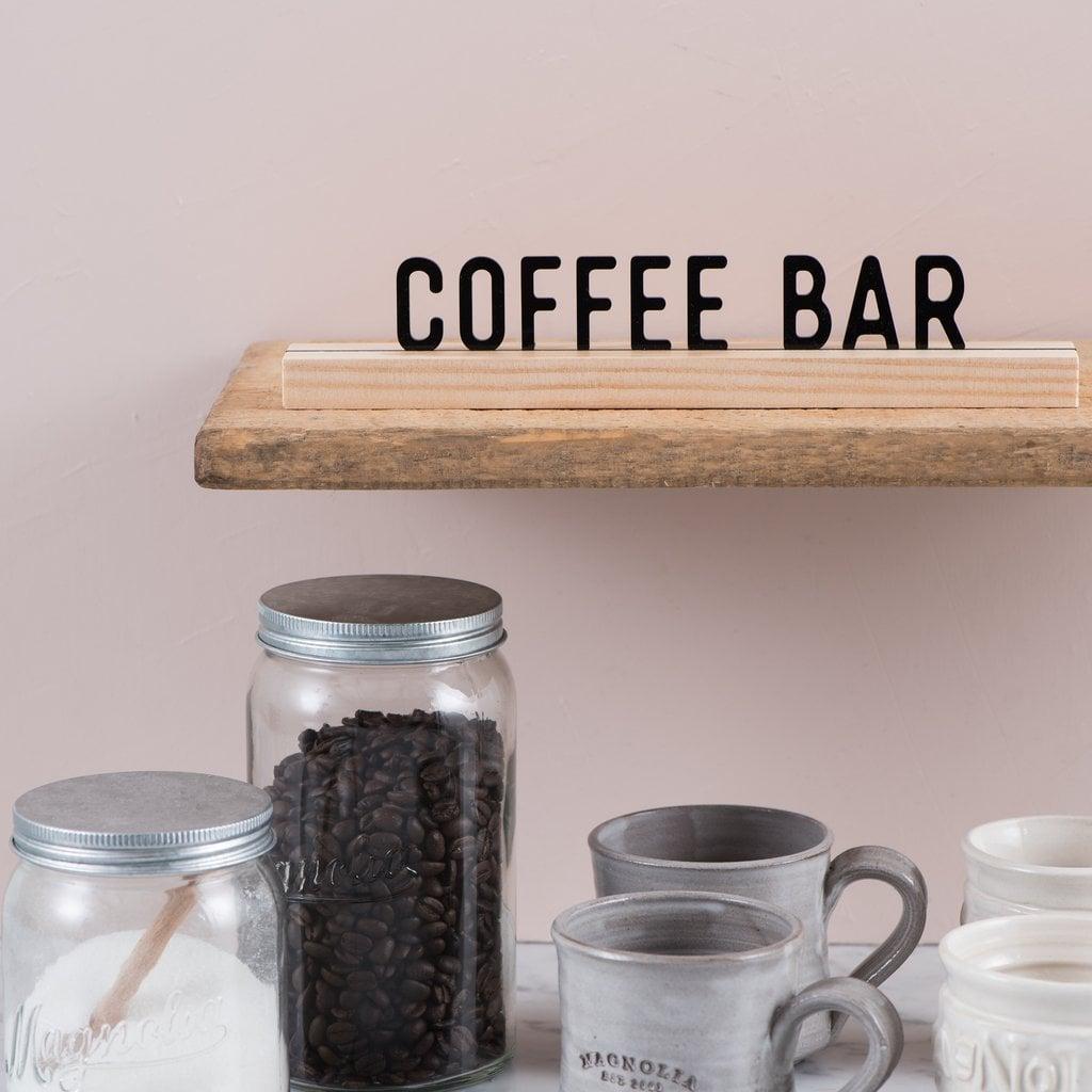 """Coffee Bar"" One Liner"
