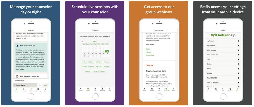 BetterHelp — Online Counseling