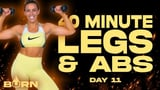40-Minute Legs and Abs Dumbbell Workout For Weight Loss