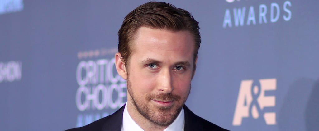 Take a Moment to Stare at Ryan Gosling's Appearance at the Critics' Choice Awards