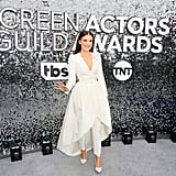 Millie Bobby Brown White Outfit at the 2020 SAG Awards