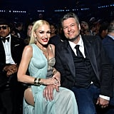 Gwen Stefani and Blake Shelton at the 2020 Grammys