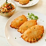 Dominican yuca empanadas, stuffed with beef and vegetables, would make an excellent party appetizer.