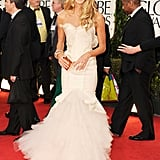 Elle Macpherson at the Golden Globes.