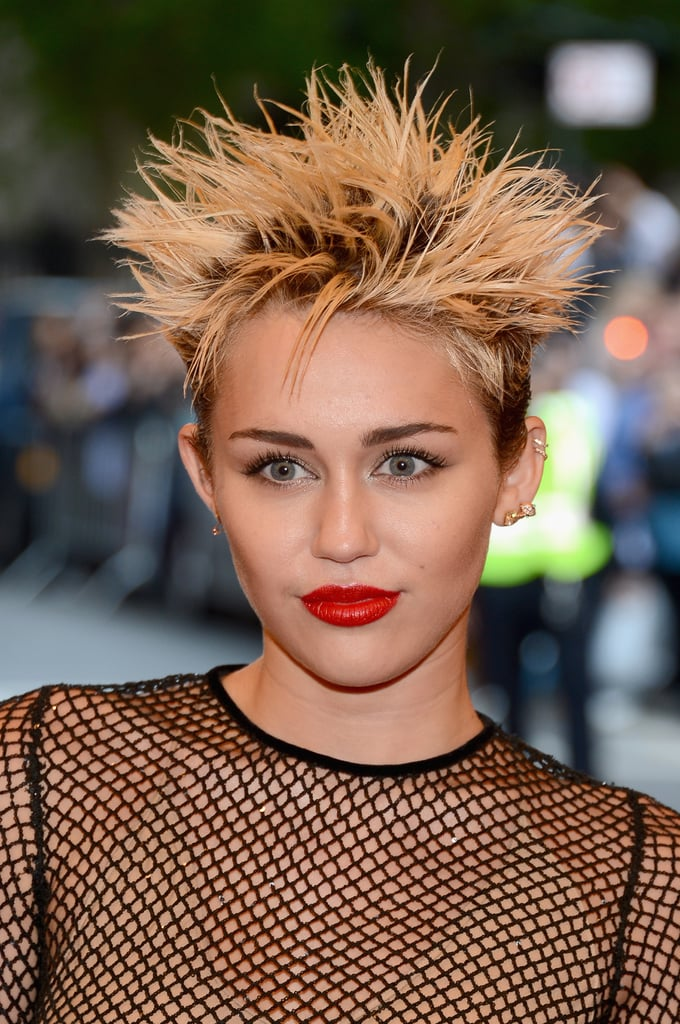 Miley Cyrus's Spikes