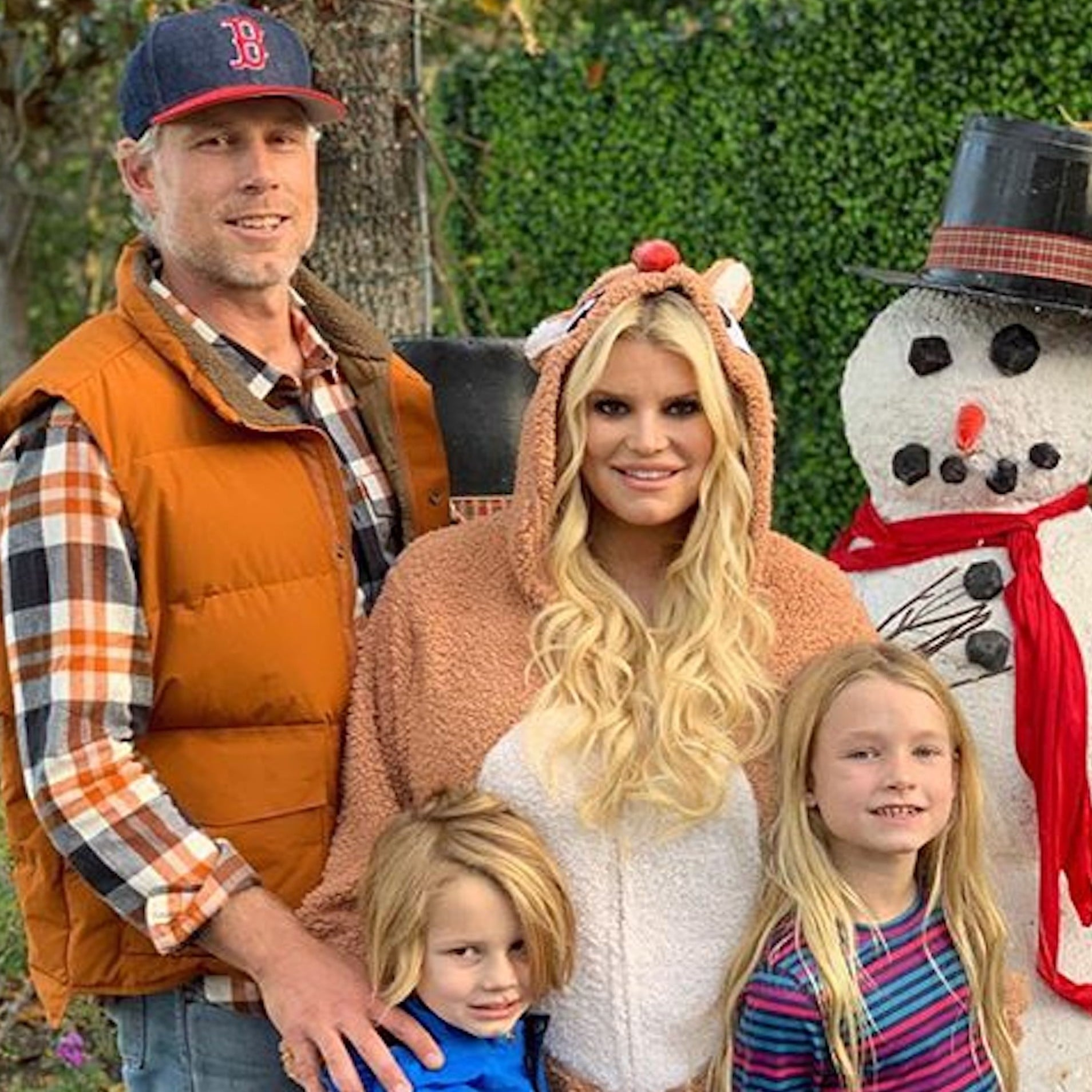 c9f704c459 Jessica Simpson s Family Snow Day Party Pictures 2018