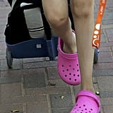 Crocs: so young, so vibrant and full of life.