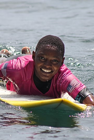 The Story Behind Black Girls Surf