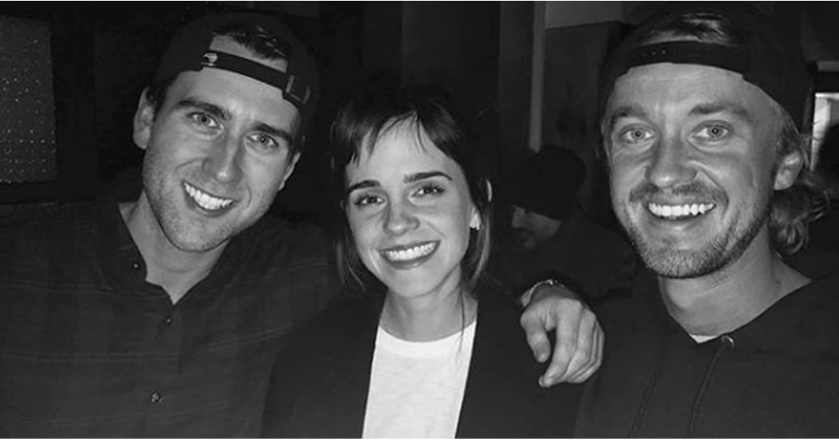 "Tom Felton and Emma Watson's Harry Potter Reunion Will Give You All the ""Dramione"" Feels"
