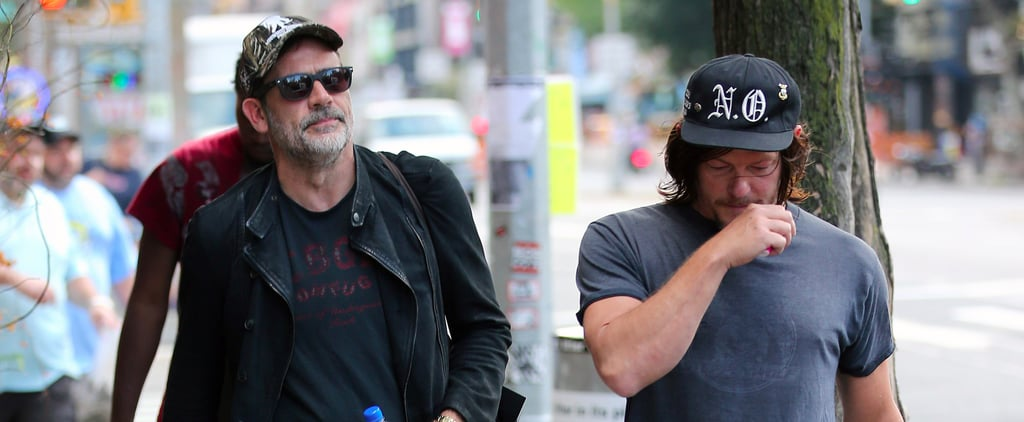 Jeffrey Dean Morgan and Norman Reedus Out in NYC Oct. 2017