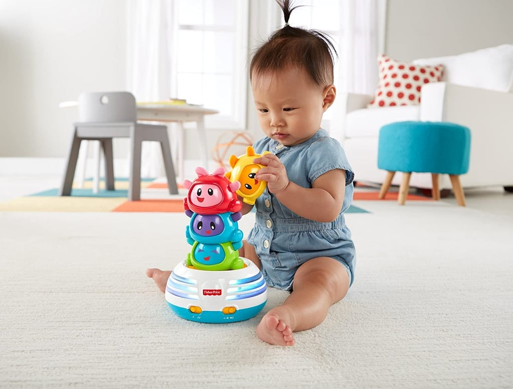 For the Baby Developing Their Fine Motor Skills: Fisher-Price Bright Beats Build-a-Beat Stacker
