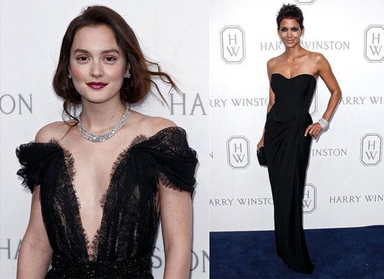 Halle Berry and Leighton Meester at Harry Winston