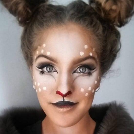 Deer Makeup Ideas For Halloween