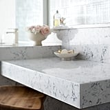 A Counter That Stands Up to Stains, Heat, and Mildew