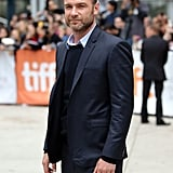 Liev Schreiber sported his signature beard at the Pawn Sacrifice premiere.