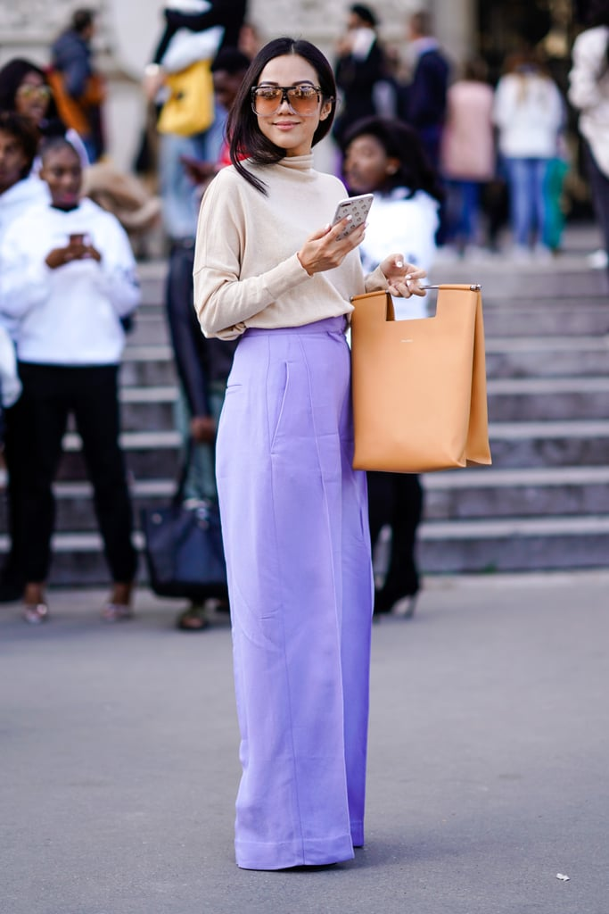 Make a Big Style Statement in Lavender Pants — It's the Color of the Year!