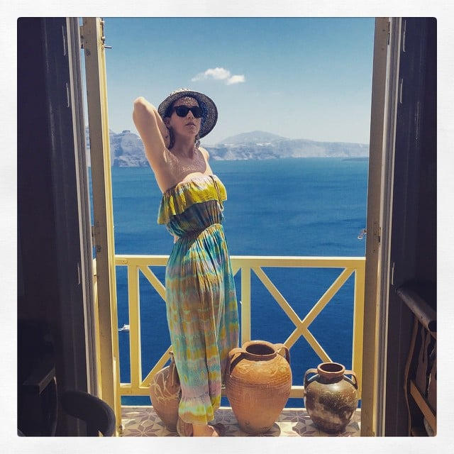 Katy Perry's Greek Holiday Is Literally What Dreams Are Made Of