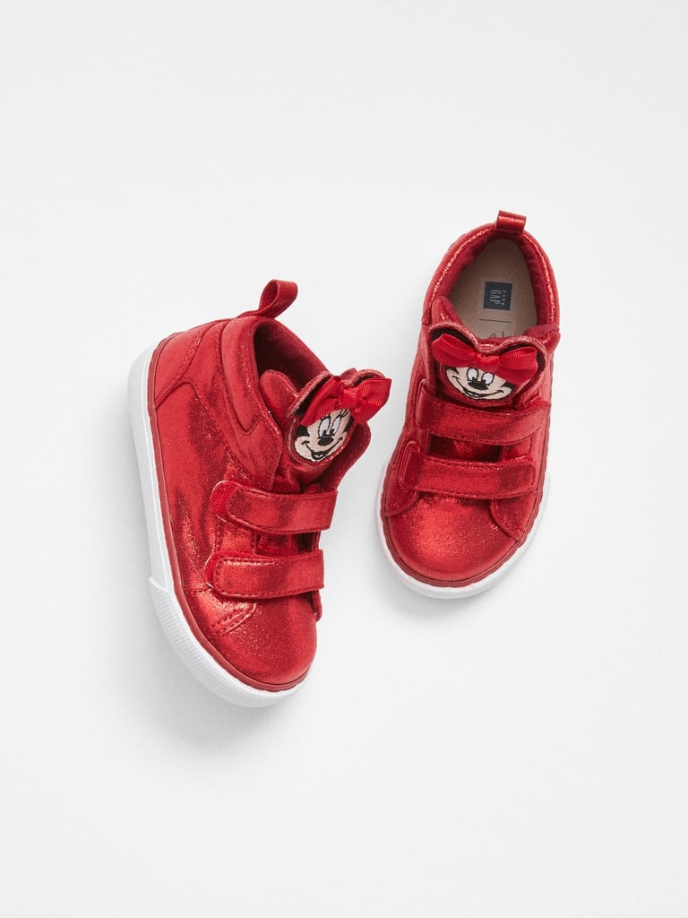 Disney Minnie Mouse Hi-Top Sneakers