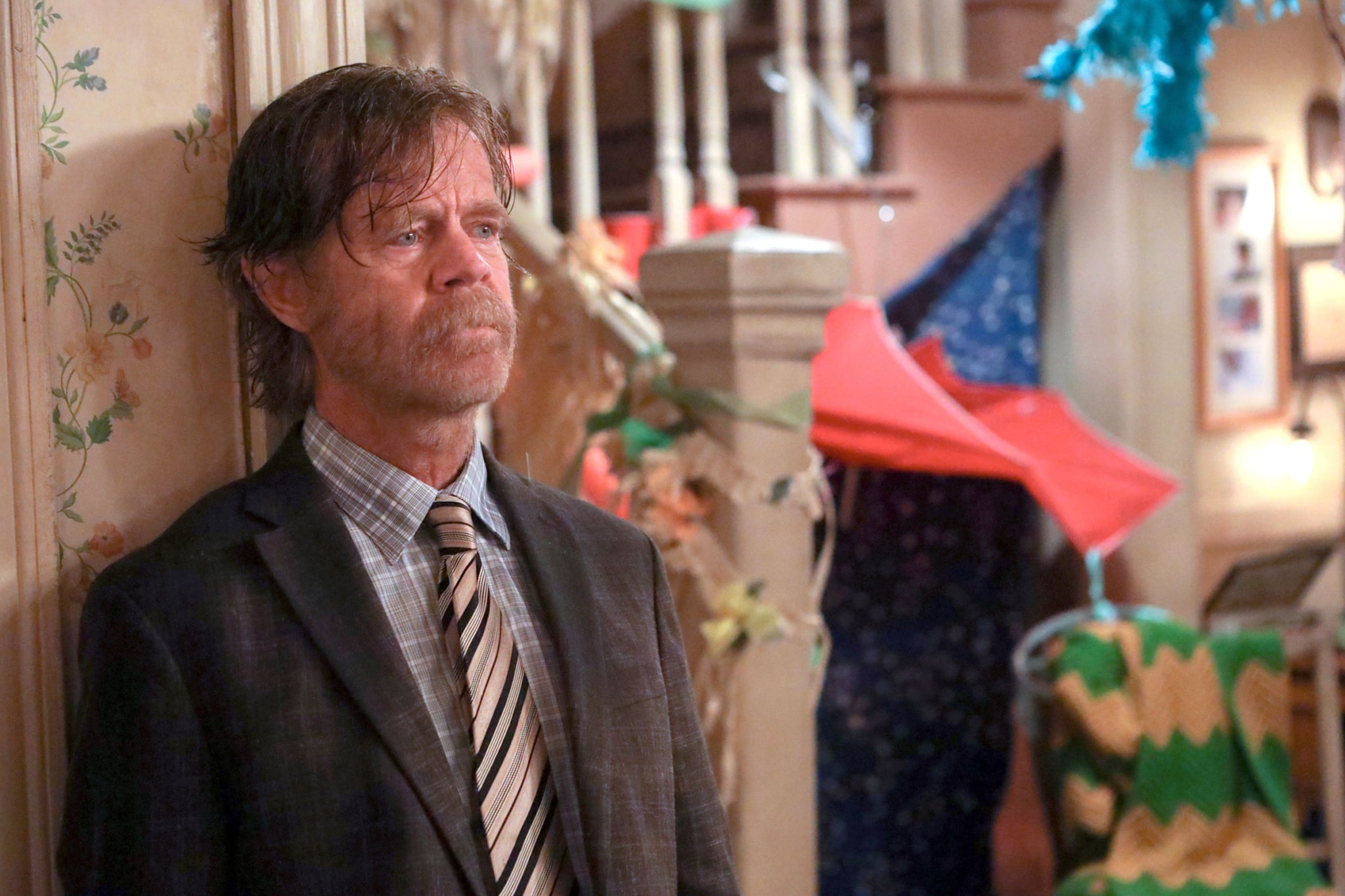 SHAMELESS, William H. Macy, 'A Little Gallagher Goes A Long Way', (Season 10, ep. 1004, aired Dec. 1, 2019). photo: Paul Sarkis / Showtime / courtesy Everett Collection