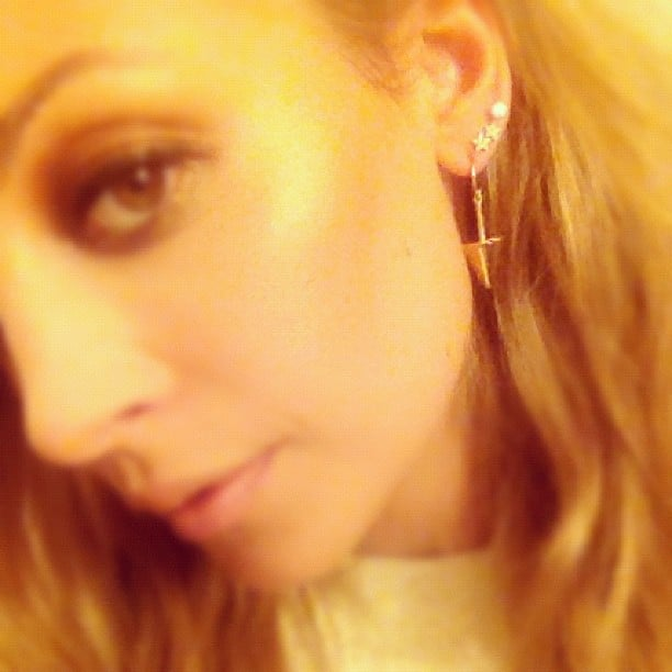Nicole Richie shows off her Jennifer Meyer jewellery. Source: Instagram user nicolerichie